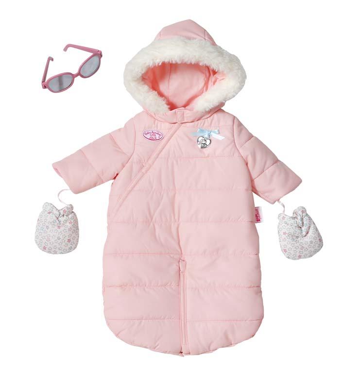 Baby Annabell Zimní souprava 2v1 793732, 46 cm