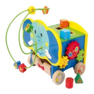 Aktívny motorický slon