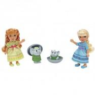 Disney Kraina Lodu – Mała Anna i Elsa z Trolami