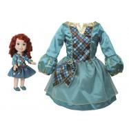 Disney princezna a dětské šaty - Rebelka Merida