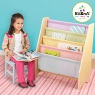 KidKraft barevný stojan na knihy