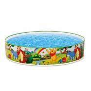 Bazén tvarovací Medvídek Pú 122x25cm