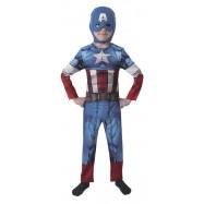 Detský kostým Avengers Assemble Captain America Classic veľkosť M