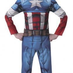 Detský kostým Avengers Assemble Captain America Classic veľkosť S
