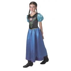 Kostium dla dzieci Frozen Anna Classic rozmiar 9-10