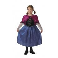 Detský kostým Frozen Anna Deluxe veľkosť L
