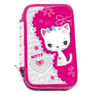 Školský peračník dvojposchodový Kitty