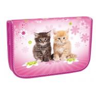 Školní penál jednopatrový Cats II