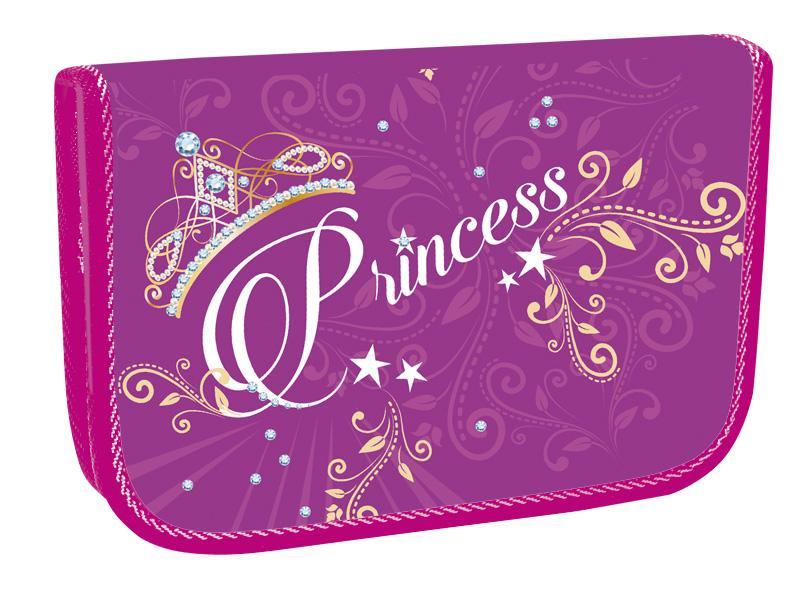 Školní penál jednopatrový Princess