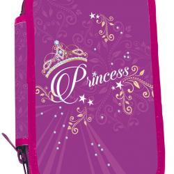 Piórnik szkolny dwupoziomowy Princess