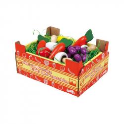 Krabice so zeleninou