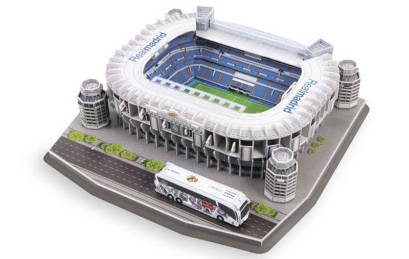 3D Puzzle Nanostad SPAIN - Santiago Bernabeu (Real Madrid)