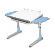 Rostoucí stůl Young College Profi bílo modrý