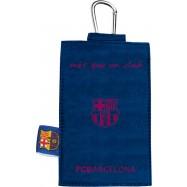 Pouzdro na mobil Barcelona blue