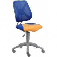 Rostoucí židle Fuxo síť modrá