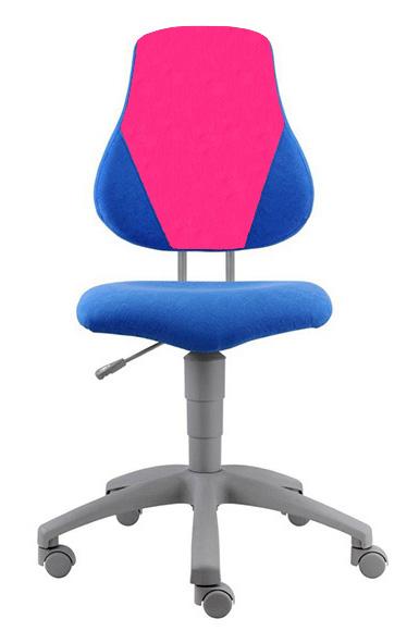 Rostoucí židle Fuxo V-line modro-růžová 1283