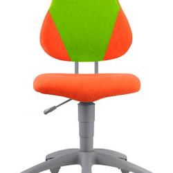 Rostoucí židle Fuxo V-line oranžovo- zelená 459