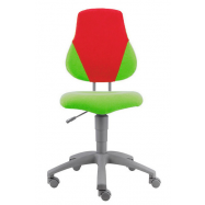 Rostoucí židle Fuxo V-line zeleno-červená 1173