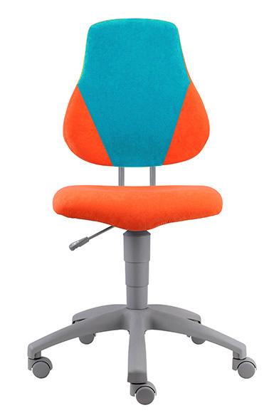 Rostoucí židle Fuxo V-line oranžovo-modrá