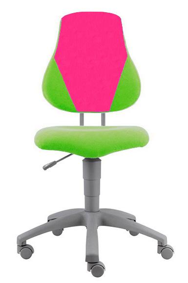 Rostoucí židle Fuxo V-line zeleno-růžová 692