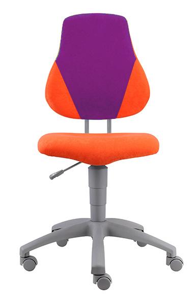 Rostoucí židle Fuxo V-line oranžovo-fialová