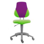 Rastúca stolička Fuxo  V-line zeleno-fialová 614