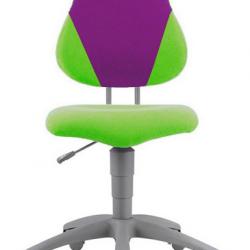 Rostoucí židle Fuxo V-line zeleno-fialová 614