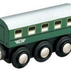 Vláčik drevené vláčikodráhy Maxim Osobné vagón