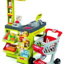 Supermarket zelenočervený