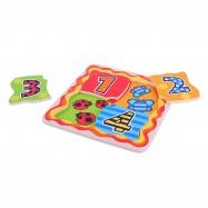 Bigjigs Toys Pyzzle cyferki