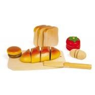 Krájacie drevené potraviny