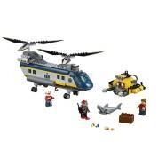 LEGO® CITY Vrtulník pro hlubinný mořský výzkum 60093
