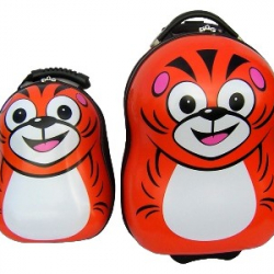 Detská sada batoh a kufor Tigrík