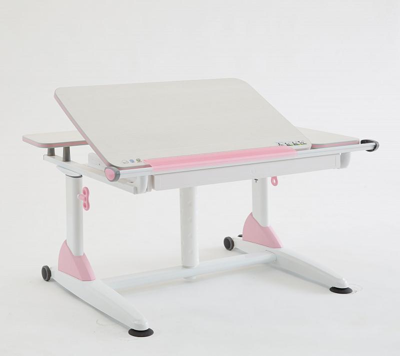 Rostoucí stůl Amadeus Junior II růžový