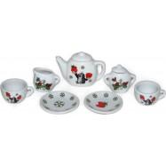 Wiky Porcelanowy serwis do herbaty dla dzieci - Krecik