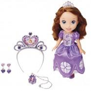 Sofie První - princezna s čelenkou a šperky