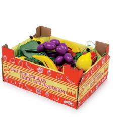 Owoce dla dzieci w skrzyneczce Legler, 11 sztuk