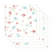 Dětské pleny Jollein 6 ks, 70 x 70 cm Blooming pink