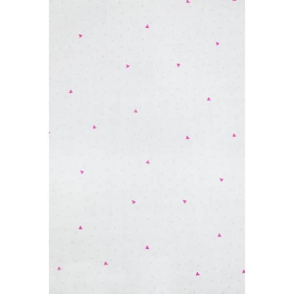 Osuška Jollein 3ks, 115 x 115 cm Blooming pink
