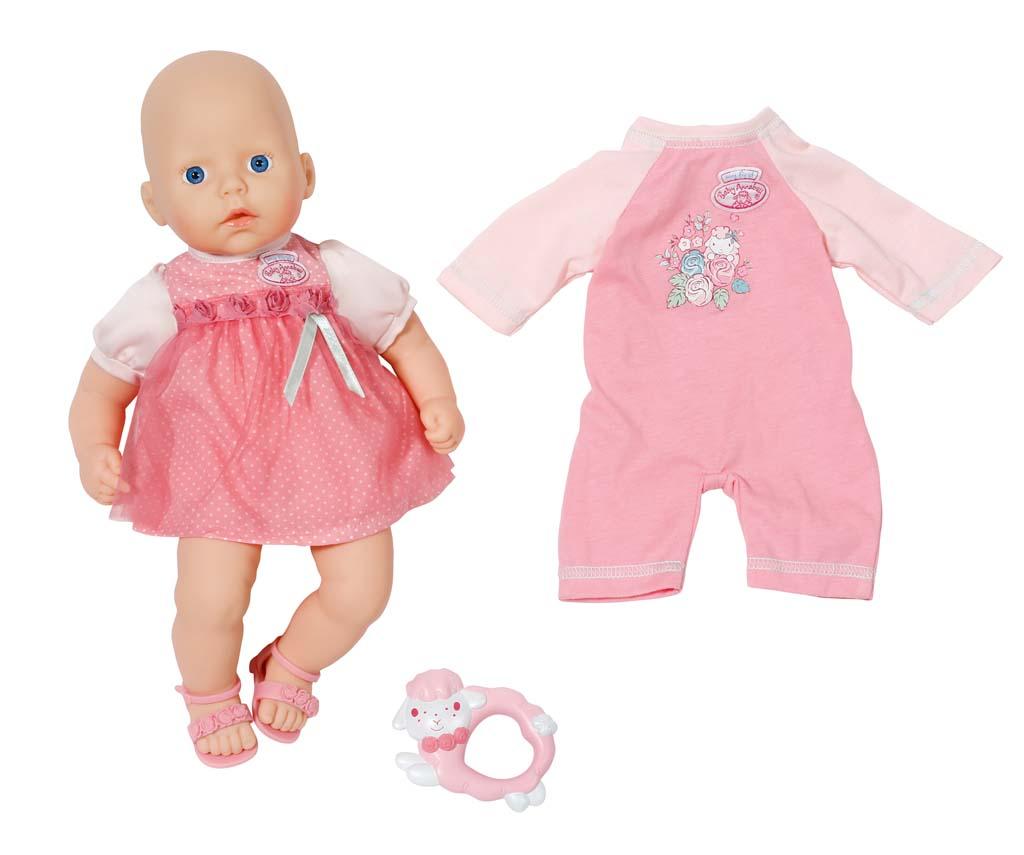My First Baby Annabell Panenka s růžovou sadou 794333, 36 cm