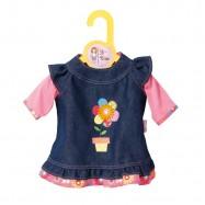 Dolly Moda Dżinsowa sukienka 38 - 46 cm 870006