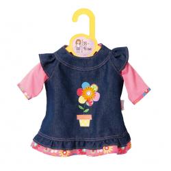 Dolly Moda Džínsové šatičky 38-46 cm 870006