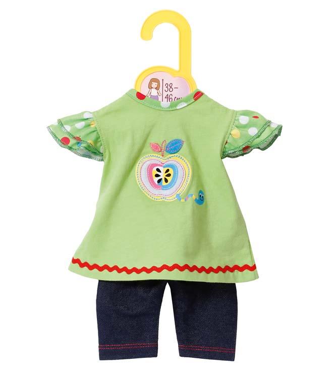 Dolly Moda Šatičky s legínami 38-46 cm 870068