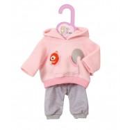 Dolly Moda Teplákovka růžová 30-36 cm 870105