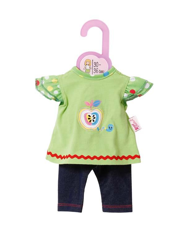 Dolly Moda Šatičky s legínami 30-36 cm 870112