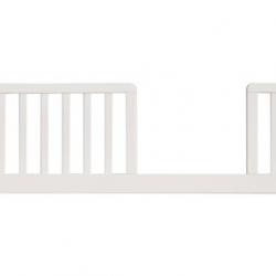 Barierka zabezpieczająca do łóżeczka Scarlett Michał buk - biała - 120 cm