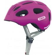 Dětská helma ABUS Youn-I sparkling pink Velikost S 48-54 cm