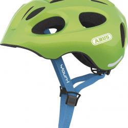 Dětská helma ABUS Youn-I sparkling green Velikost S 48-54 cm