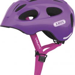 Dětská helma ABUS Youn-I sparkling purple Velikost M 52-57cm