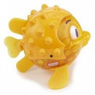 Pływająca rybka ze światełkiem Żółta